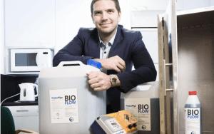 Viemäreiden mikrobipuhdistaja nelinkertaisti vientinsä (Kauppalehti 9.8.2018)