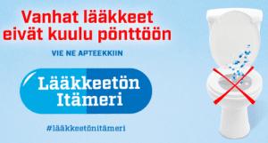 Tavoitteena lääkkeetön Itämeri