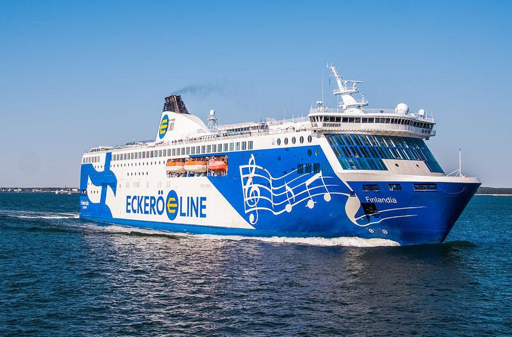 M/s Finlandia luottaa ympäristöystävälliseen suomalaisinnovaatioon – mikrobit popsivat putkitukokset tieltään (Eckerö Line 11.12.2018)