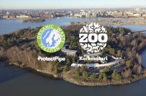 Korkeasaaressa suojellaan eläimiä ja ympäristöä – eläintarhan uusimmat asukit, elävät mikrobit, puhdistavat putket ekologisesti (Tiedote 28.11.2018)